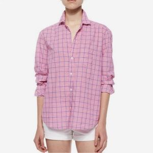 Frank & Eileen Italian Cotton Plaid Button Down